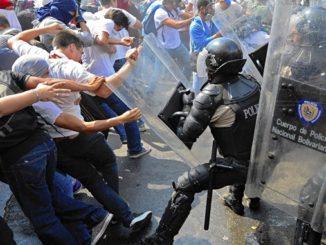 Venezuela is burning